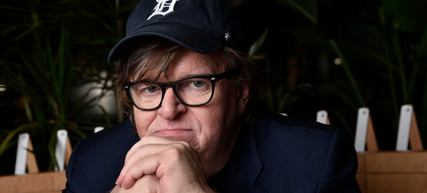 Michael Moore. (photo: New York Times)