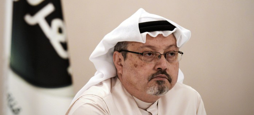 Washington Post columnist Jamal Khashoggi. (photo: Mohammed Al-Shaikh/Getty)