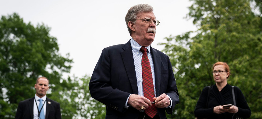 John Bolton, then national security adviser, was reportedly alarmed by two White House meetings with Ukrainian officials on July 10. (photo: Jabin Botsford/The Washington Post)