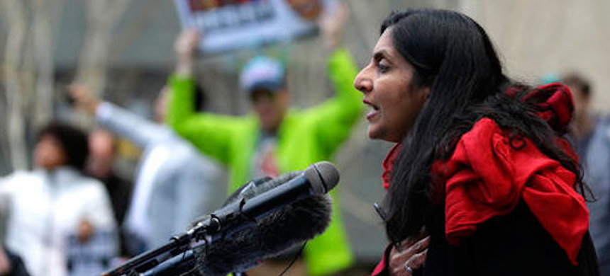 Seattle City Council member Kshama Sawant. (photo: AP)