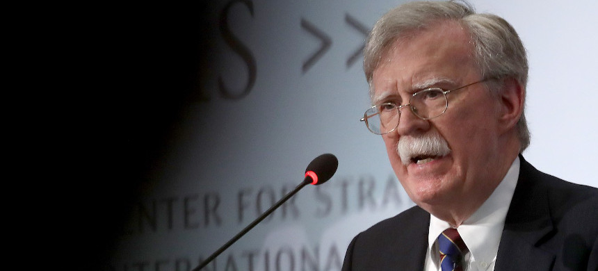 Former U.S. national security advisor John Bolton speaks at the Center for Strategic and International Studies, September 30, 2019, in Washington, D.C. (photo: Win McNamee/Getty)