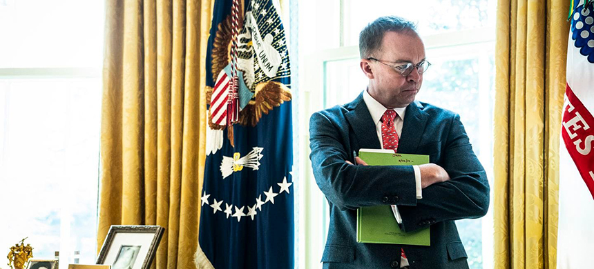Mick Mulvaney. (photo: Jabin Botsford/WP)
