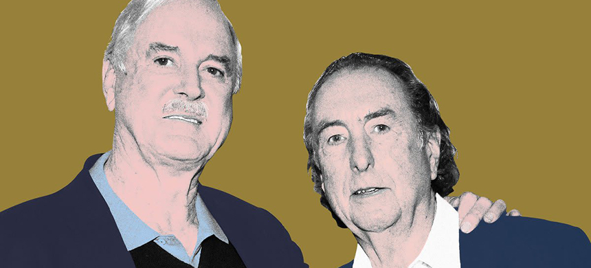 John Cleese and Eric Idle. (image: Elizabeth Brockway/The Daily Beast)