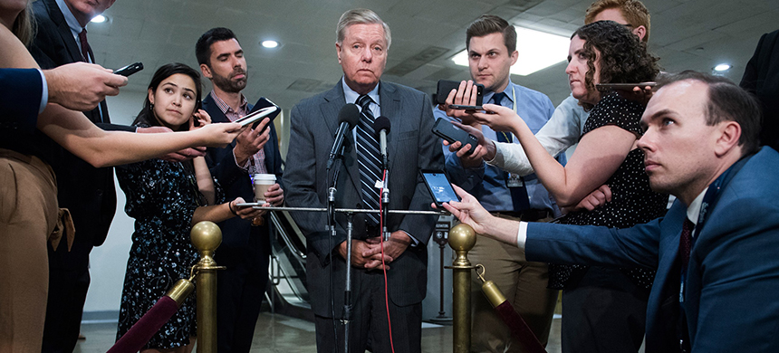 Lindsey Graham. (photo: Tom Williams/CQ-Roll Call/Getty Images)