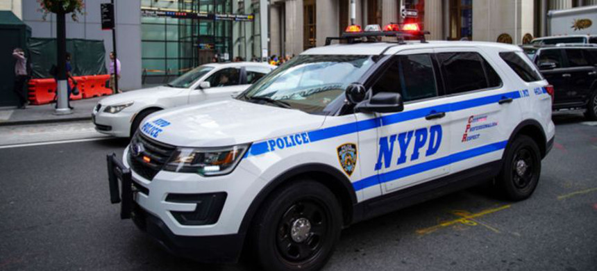 New York Police Department. (photo: AM New York)