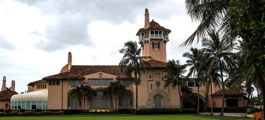 Mar-a-Lago is set to host a private event for the Center for Security Policy, a nonprofit based in Washington that has espoused anti-Muslim views. (photo: Saul Martinez/The New York Times)