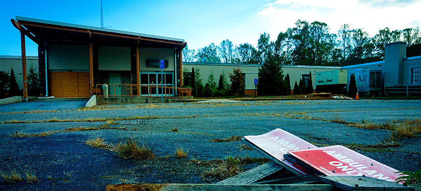 A health care facility in Appalachia. (photo: Mason Adams/Getty Images)