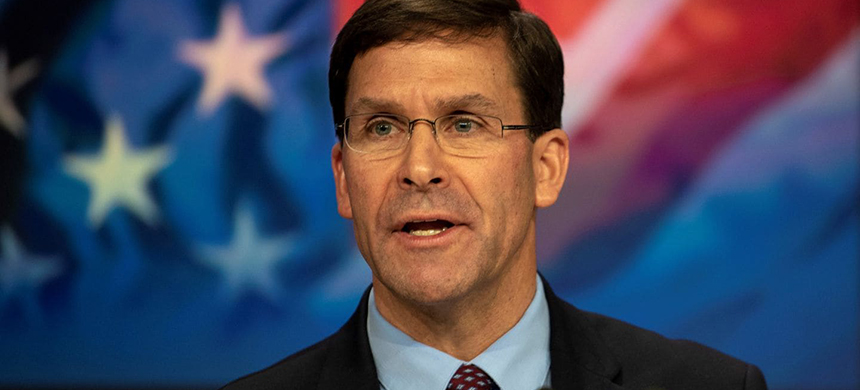 Defense Secretary Mark T. Esper demanded the resignation of the Navy secretary, Richard V. Spencer, on Sunday. (photo: Lisa Ferdinando/Department of Defense/Reuters)