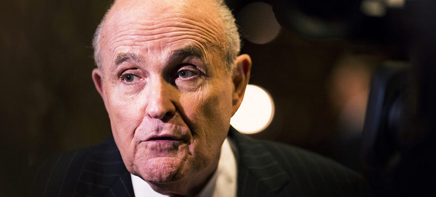 Rudy Giuliani. (photo: unknown)