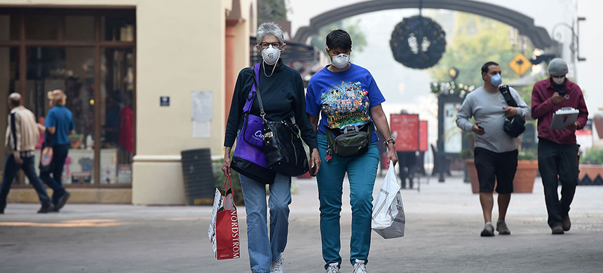 Air pollution. (photo: Robyn Beck/Getty Images)