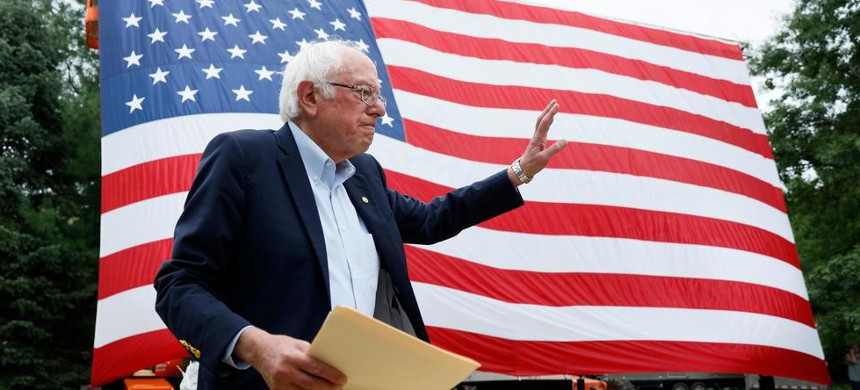 Sen. Bernie Sanders. (photo: Getty)