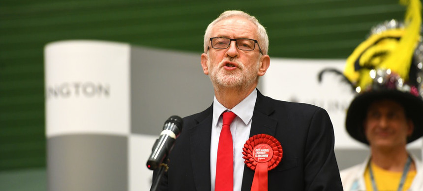 Labour leader Jeremy Corbyn. (photo: Joe Giddens/Getty)