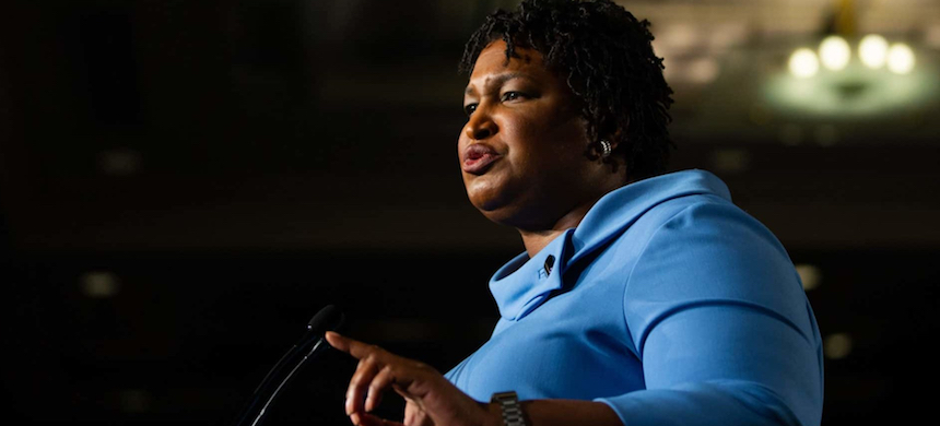 Stacey Abrams. (photo: Kevin D. Liles/Getty Images)