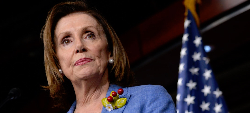The classified document drew criticism from Nancy Pelosi. (photo: Reuters)