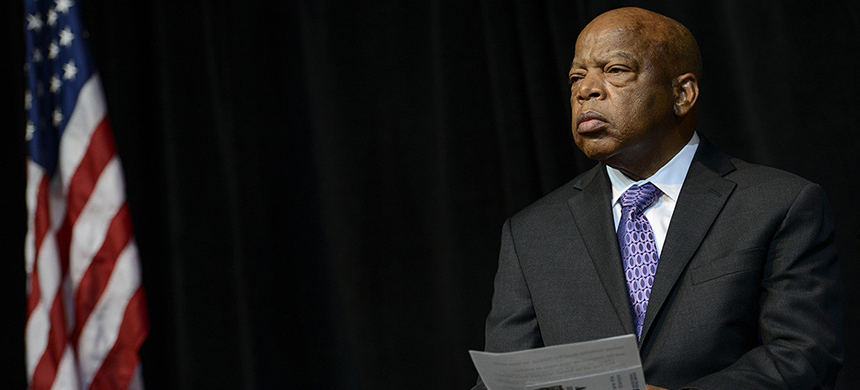 Georgia Rep. John Lewis said he is 'clear-eyed' about his situation. (photo: Riccardo S. Savi/Getty Images/U.S. Postal Service)