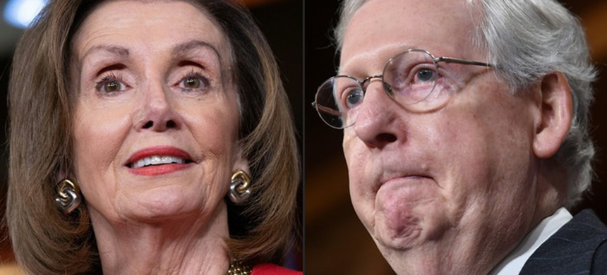 Pelosi and McConnell. (photo: unknown)