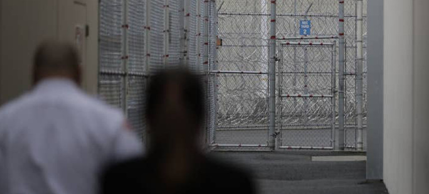 US Immigration and Customs Enforcement detention center in Tacoma, Washington. (photo: AP)