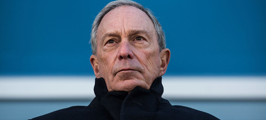 Mike Bloomberg. (photo: Andrew Burton/Getty Images)