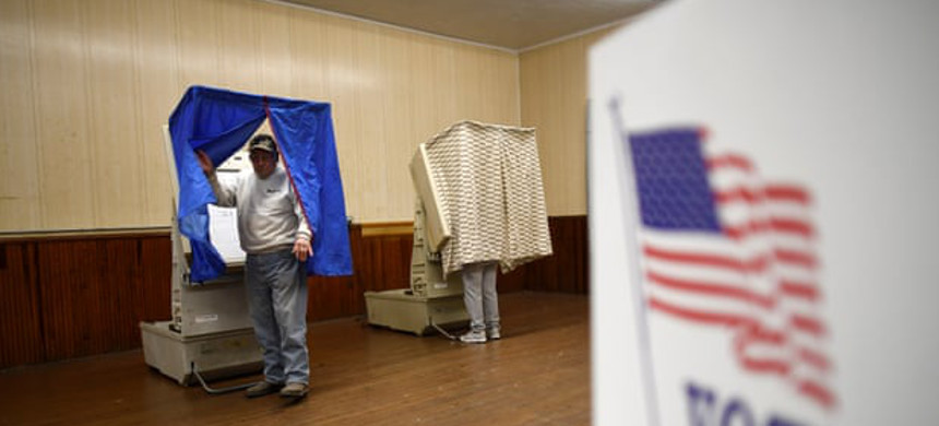 A Senate intelligence committee report in mid 2019 concluded that Kremlin hackers investigated election systems in all 50 states. (photo: Mark Makela/Reuters)