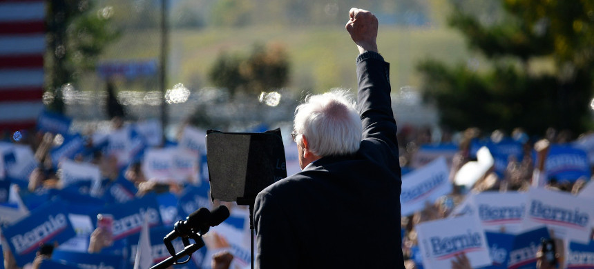 Bernie Sanders. (photo: Bastiaan Slabbers/Getty Images)