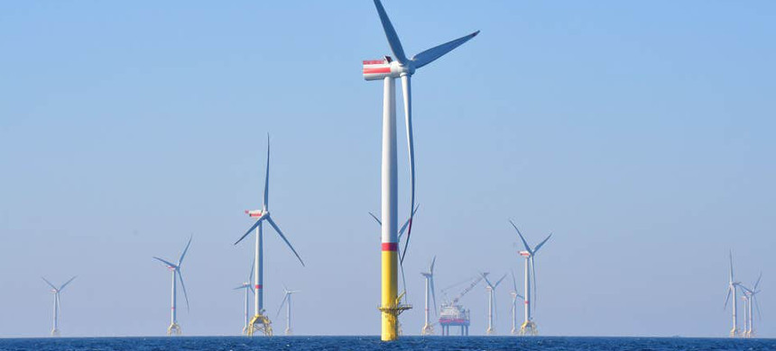 Off-shore wind turbines. (photo: Getty Images)