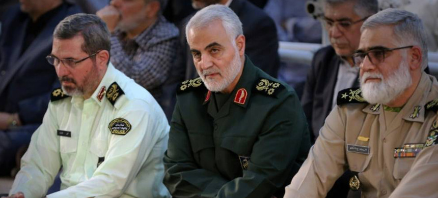 Maj. Gen. Qasem Soleimani. (photo: AFP)