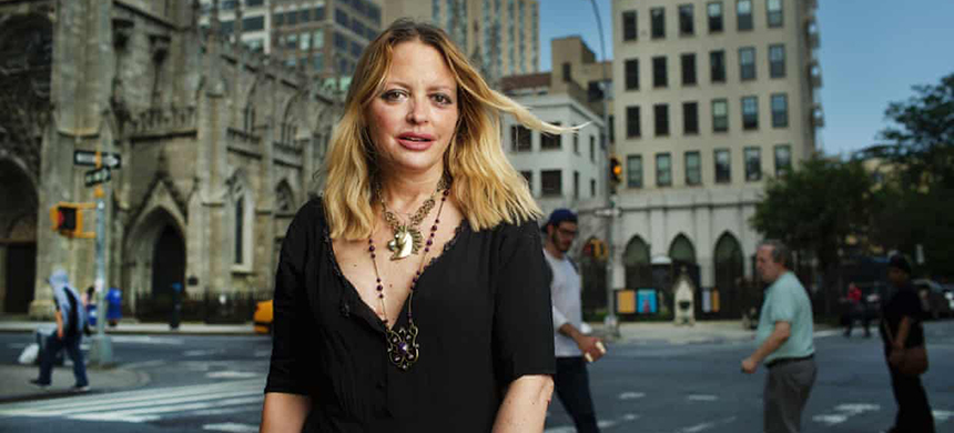 'I did not expect, not ever, to be scared to death' ... Elizabeth Wurtzel in New York in 2015. (photo: Dan Callister/Rex/Shutterstock)