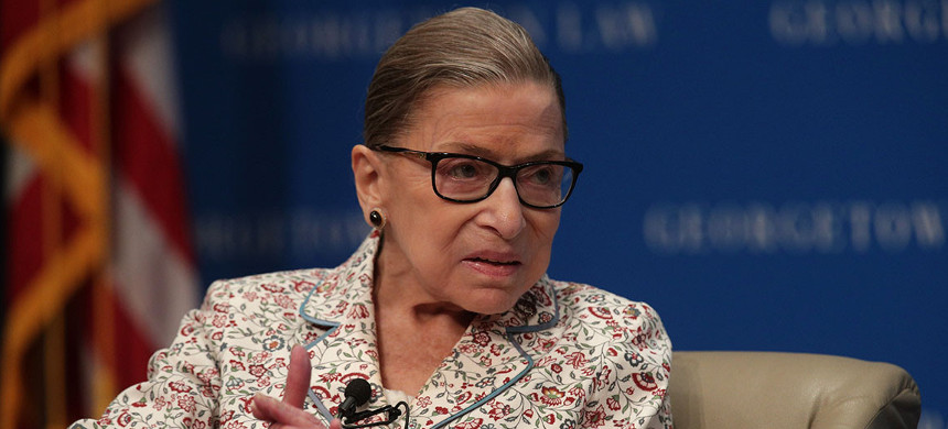 Supreme Court Associate Justice Ruth Bader Ginsburg. (photo: Alex Wong/Getty)