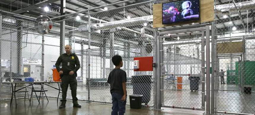 ICE Detention center. (photo: Getty)