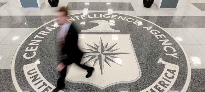 The lobby of the CIA Headquarters Building in Langley (photo: Reuters)