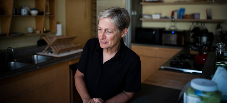Judith Butler at home in Berkeley, Calif. (photo: Brain L. Frank/The New York Times)