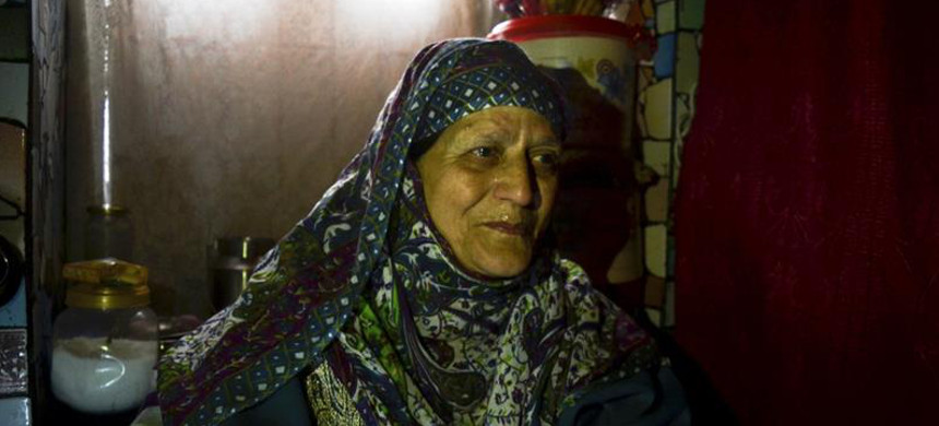 Ateeqa says her son was arrested when he had left his home in a Maisuma locality of Srinagar to buy medicine. (photo: Masrat Zahra/Al Jazeera)