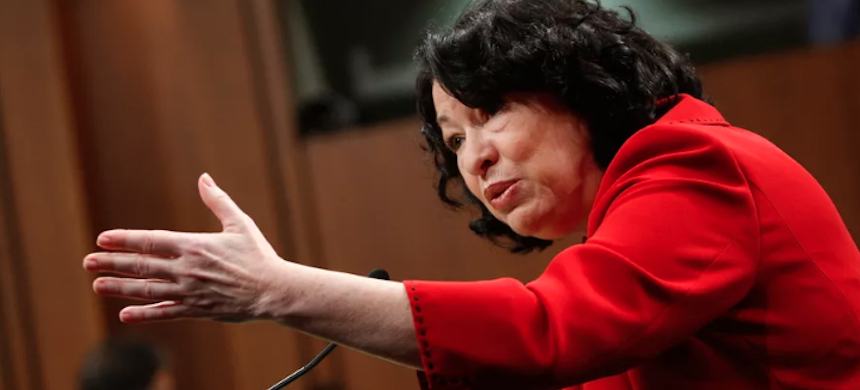 Justice Sonia Sotomayor. (photo: Alex Wong/Getty Images)