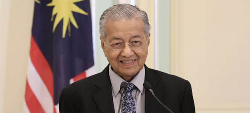 Malaysia's Prime Minister has also reportedly resigned from his party, Parti Pribumi Bersatu Malaysia. (photo: Lim Huey Teng/Reuters)