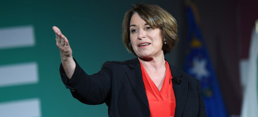 Sen. Amy Klobuchar. (photo: Ethan Miller/Getty)
