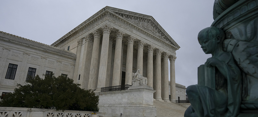 The US Supreme Court building. (photo: Stefani Reynolds/Bloomberg)