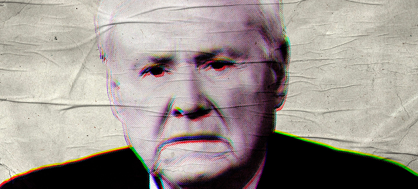 The recently retired (forced out) MSNBC anchor and ardent Joe Biden Supporter Chris Matthews. (photo: Illustration by Elizabeth Brockway/The Daily Beast/Getty)