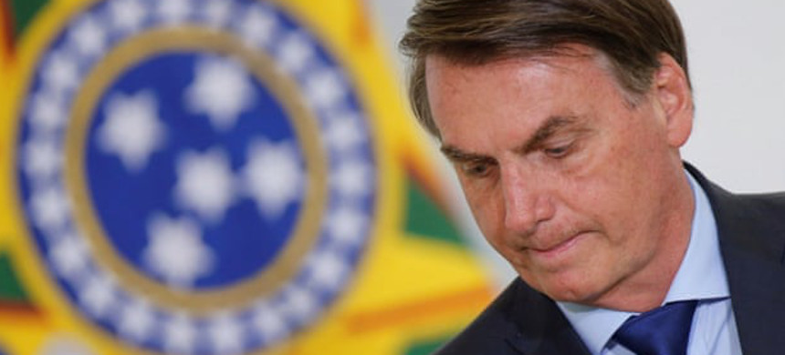 Jair Bolsonaro has often attacked LBGT people, indigenous people, and journalists. (photo: Adriano Machado/Reuters)