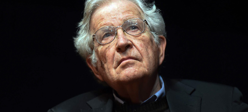 Professor Noam Chomsky. (photo: Getty)
