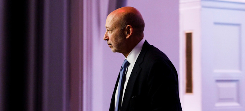 Lloyd Blankfein has a dissenting view on coronavirus. (photo: Justin Lane/EPA-EFE/Shutterstock)