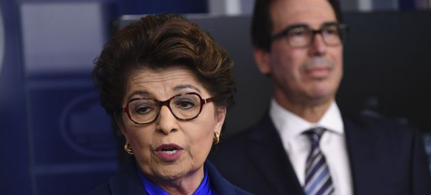 Jovita Carranza, administrator of the Small Business Administration. (photo: Getty)