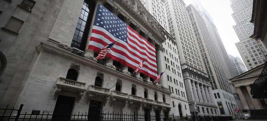New York Stock Exchange building. (photo: Tayfun Coskun/Getty)