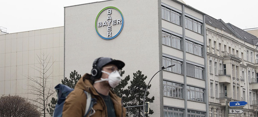 Bayer. (photo: Jorg Carstensen/Getty Images)
