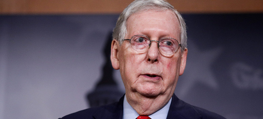 Sen. Mitch McConnell. (photo: Reuters)