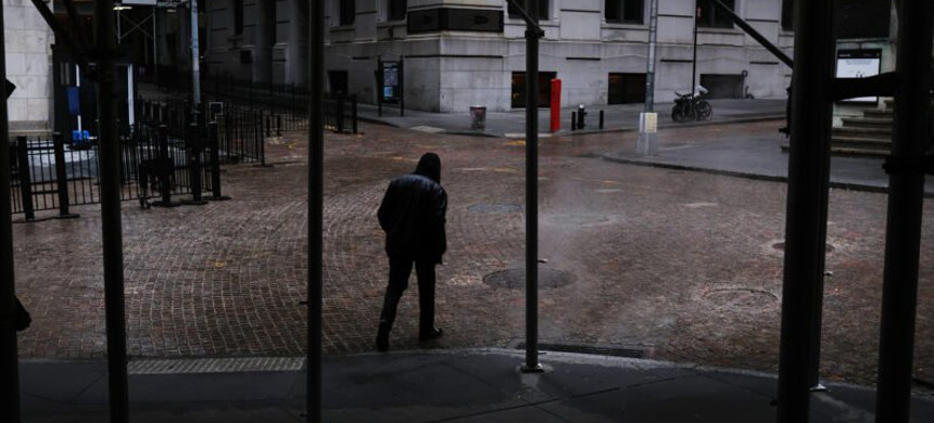 Wall Street rallied on Friday after the government reported the highest unemployment rate since the Great Depression. (photo: Spencer Platt/Getty)