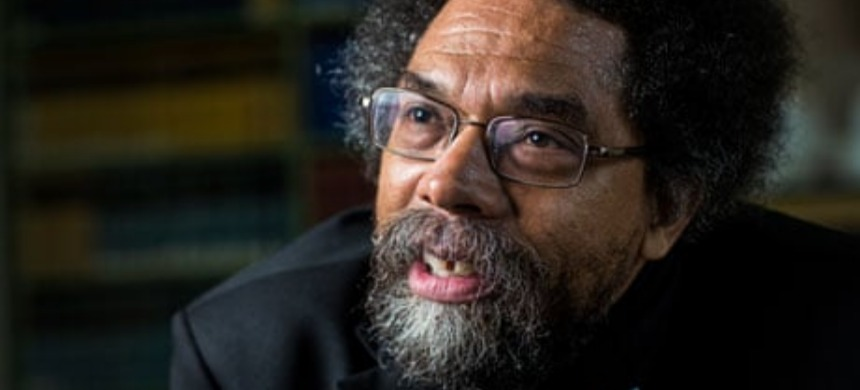 Cornel West. (photo: David Levene/Guardian UK)