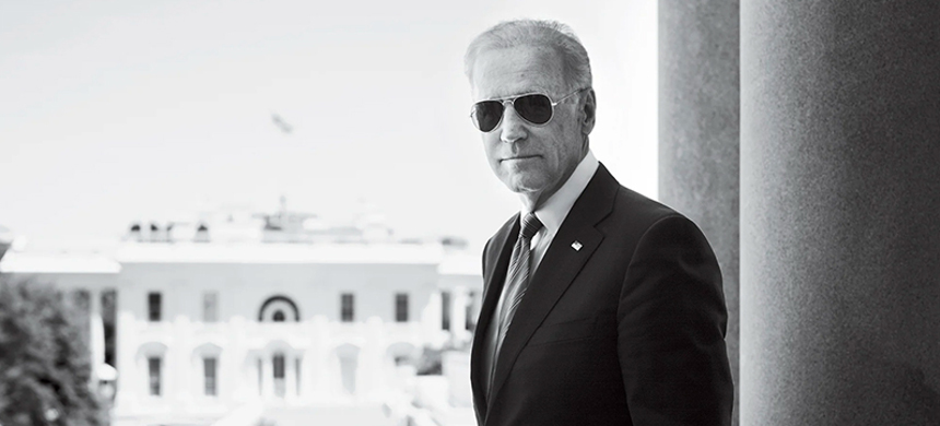 Joe Biden during his tenure as vice president under Obama. (photo: Martin Schoeller/GQ)