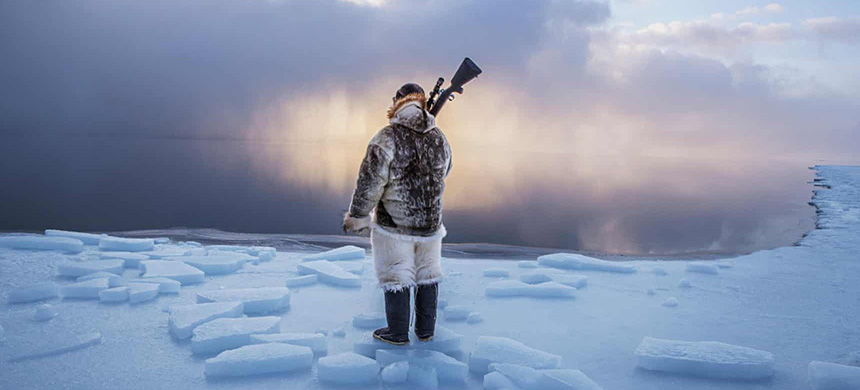 The Inuit of Labrador already have higher concentrations of methylmercury in their bodies than non-indigenous Canadians, but there is sharp disagreement over the extent to which large dams are further elevating those levels. (photo: National Geographic Image Collection/Alamy Stock Photo)