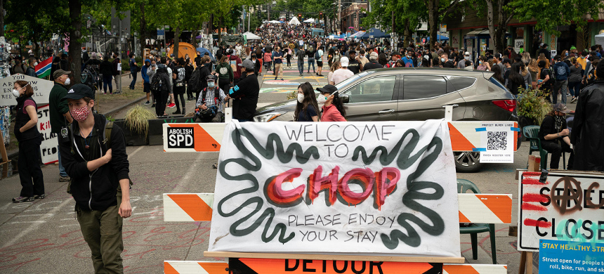 Welcome to Seattle's 'cop-free zone.' (photo: David Ryder/Getty)