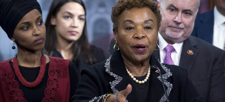 Representative Barbara Lee. (photo: Jose Luis Magana/AP)